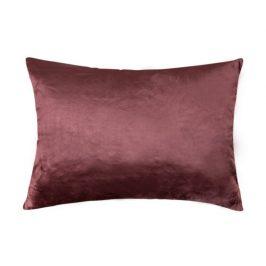 XPOSE ® Mikroplyšový povlak na polštář - tmavě hnědá 40x60 cm