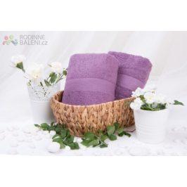 XPOSE ® Froté osuška VERONA - fialová 70x140 cm
