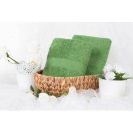 XPOSE ® Froté osuška VERONA - zelená 70x140 cm