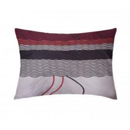 XPOSE ® Povlak na polštář BARBORA - šedá 70x90 cm
