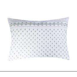 XPOSE ® Krepový povlak na polštář EMA - šedá 70x90 cm