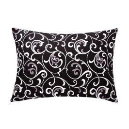 XPOSE ® Povlak na polštář ELIZABETH DUO - černobílá 70x90 cm
