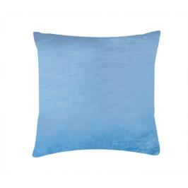 Mikroplyšový povlak na polštář - nová modrá 40x40 cm