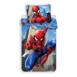 Jerry Fabrics Povlečení Spiderman blue 02 Povlečení Spiderman blue 02 140x200 70x90