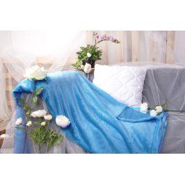 XPOSE ® Deka mikroplyš - nová modrá 200x230 cm