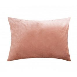XPOSE ® Mikroplyšový povlak na polštář - hnědá 70x90 cm