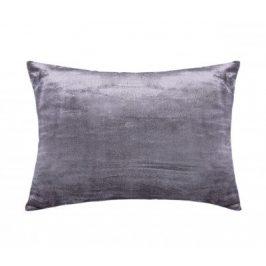XPOSE ® Mikroplyšový povlak na polštář - tmavě šedá 70x90 cm