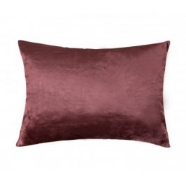XPOSE ® Mikroplyšový povlak na polštář - tmavě hnědá 70x90 cm