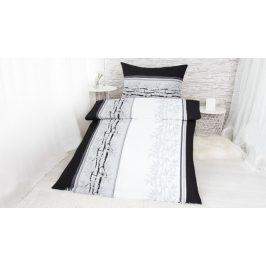 XPOSE ® Krepové povlečení ŠTĚPÁNKA - šedá 140x200, 70x90