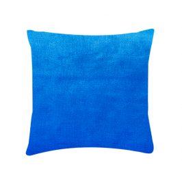 XPOSE ® Mikroplyšový povlak na polštář - modrá 40x40 cm