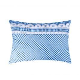 XPOSE ® Povlak na polštář APOLENA - modrá 70x90 cm