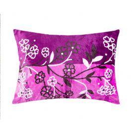 XPOSE ® Povlak na polštář mikroflanel ADINA - fialová 70x90 cm