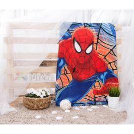 Setino Dětská deka SPIDER-MAN V SÍTI 100x150 cm