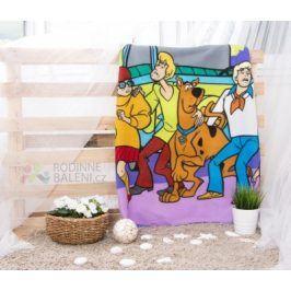 Faro Tekstylia Dětská deka SCOOBY-DOO 120x150 cm