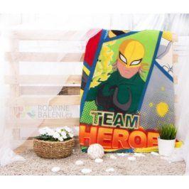 Faro Tekstylia Dětská deka TEAM HEROES 120x150 cm