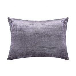 XPOSE ® Mikroplyšový povlak na polštář - tmavě šedá 40x60 cm