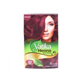 Dabur - Vatika barva na vlasy HENNA - burgundy 6x10 g