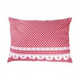 XPOSE ® Povlak na polštář APOLENA - červená 70x90 cm