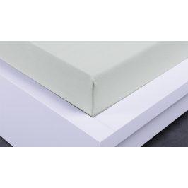 XPOSE ® Dětské prostěradlo jersey - světle šedá 70x140 cm