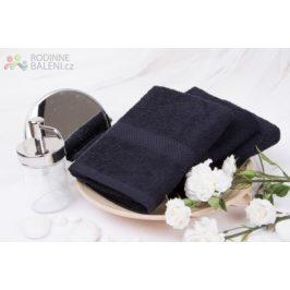 XPOSE ® Froté ručník VERONA - černá 50x90 cm