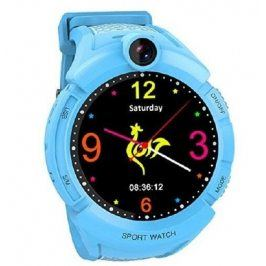 Dětské hodinky s GPS a fotoaparátem CEL-TEC GW600 blue