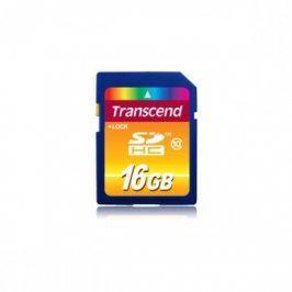 TRANSCEND - Paměťová karta 16GB SDHC Card Class 10 - TRANSCEND