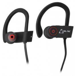 CEL-TEC - Bezdrátová bluetooth sluchátka CEL-TEC BS4 sport - černo-červená
