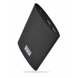 BOX Products 6000mAh Portable Tablet Charger, 2x USB, 3.1A - černý