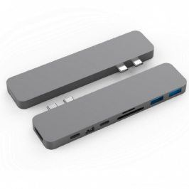 HyperDrive PRO USB-C Hub pro MacBook Pro - Space Gray HY-GN28D-GRAY
