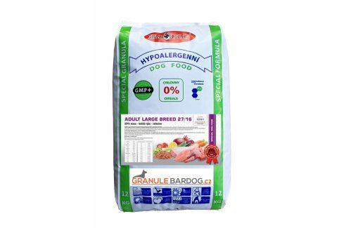 Bardog Hypoalergenní granule Adult Large Breed 27/16 - 12 kg Krmivo pro psy