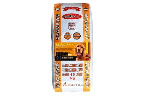 Bardog Super prémiové granule Adult Medium M 24/13 - 15 kg Krmivo pro psy