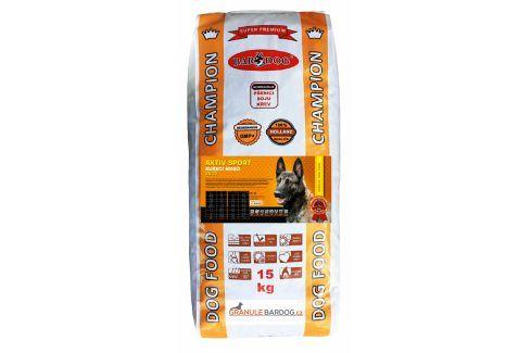 Bardog  Super prémiové granule Aktiv sport 32/22 - 15 kg Krmivo pro psy