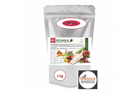 Bardog Hypoalergenní granule Hypo Duck 60 - 30/17 1 kg Krmivo pro psy
