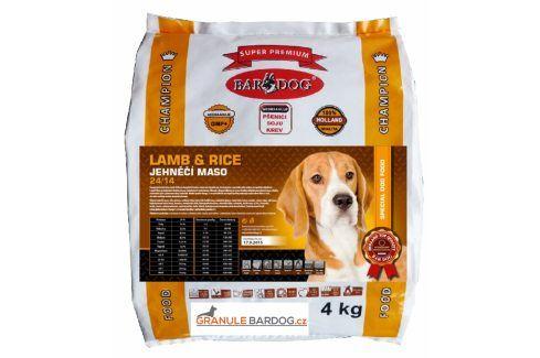 Bardog Super prémiové granule Lamb rice 24/14 - 4 kg Krmivo pro psy