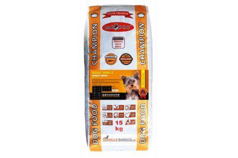 Bardog Super premiové granule Adult Mini S 24/13 - 15 kg Krmivo pro psy