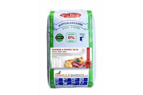 Venison Potato hypoalergenní 19/10 - 12 kg Krmivo pro psy