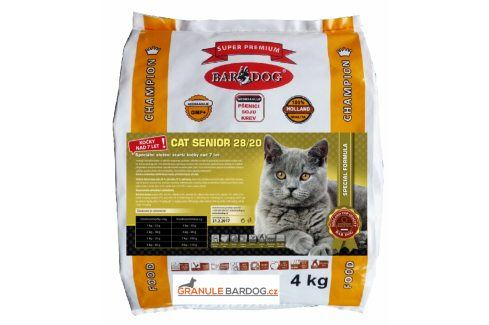 Cat Senior 28/20 - 4 kg Super Prémium