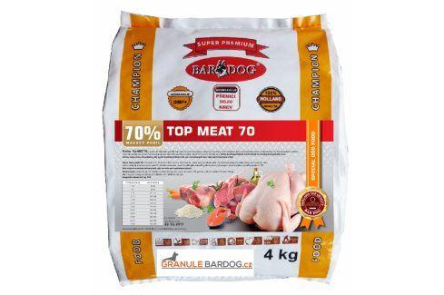 Bardog Top Meat 70 lisované - 4 kg Krmivo pro psy