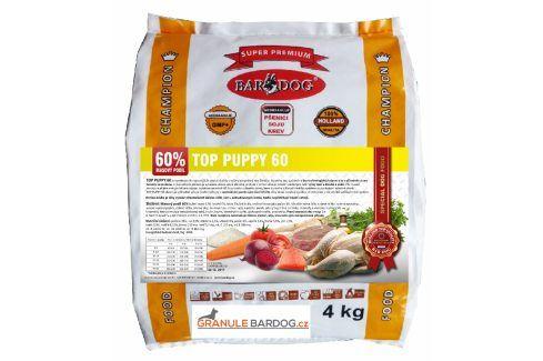 Bardog lisované granule Top Puppy 60 4 kg Krmivo pro psy