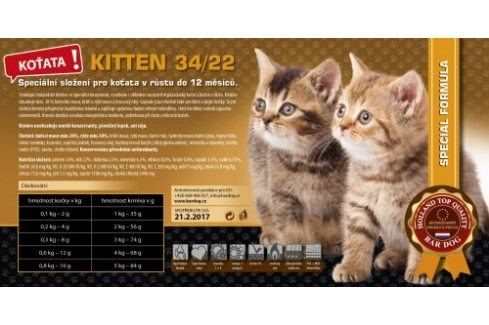 Kitten 34/22 - 1 kg Vážená balení