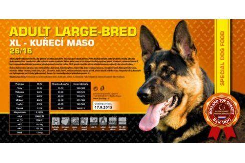 Bardog Adult Large Breed super premium 26/16 - 1 kg Kvalitní krmivo pro mazlíčky