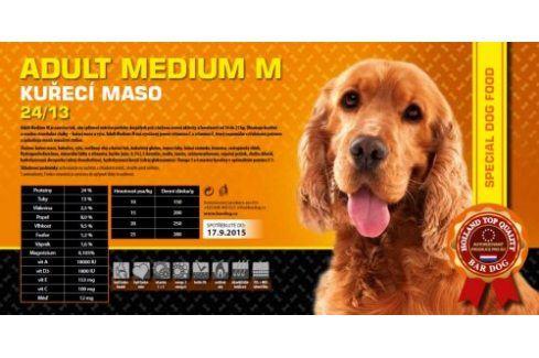 Bardog Super prémiové granule Adult Medium M 24/13 - 1 kg Kvalitní krmivo pro mazlíčky