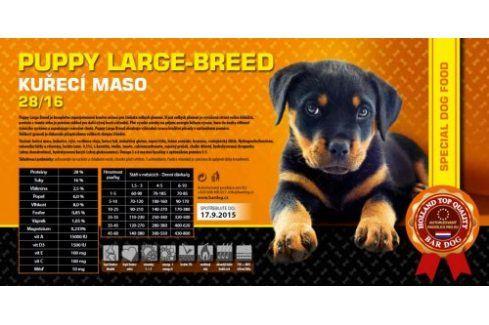 Bardog Super prémiové granule Puppy Large Breed 28/16 - 1 kg Kvalitní krmivo pro mazlíčky