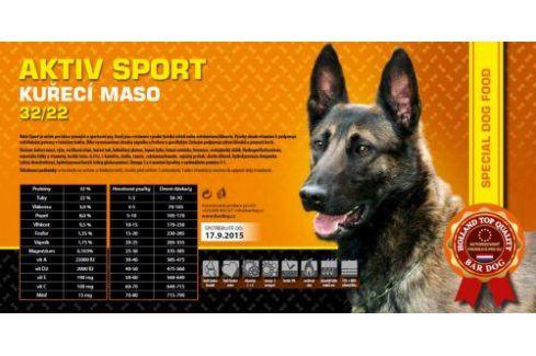 Bardog Super premiové granule Aktiv sport 32/22 - 1 kg Kvalitní krmivo pro mazlíčky