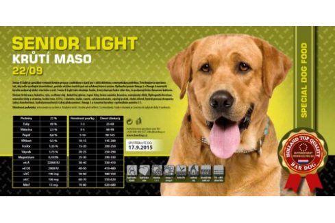 Senior light super premium 22/09 - 1 kg Kvalitní krmivo pro mazlíčky