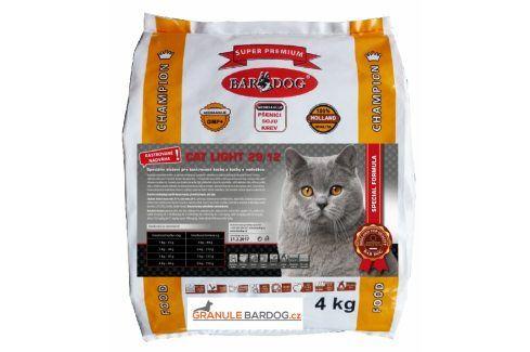 Bardog Super prémiové krmivo pro kočky Cat Light 29/12 - 4 kg Super Prémium