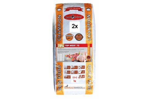 Bardog Granule lisované za studena Top Meat 70 - 30 kg Krmivo pro psy