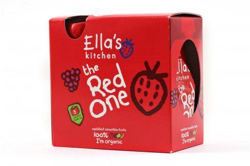 Ella's Kitchen Ovocné pyré - Red One (Jahoda) - 5 ks   Ovocné přesnídávky