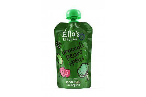 Ella's Kitchen Brokolice, hruška a hrášek   Zeleninové příkrmy