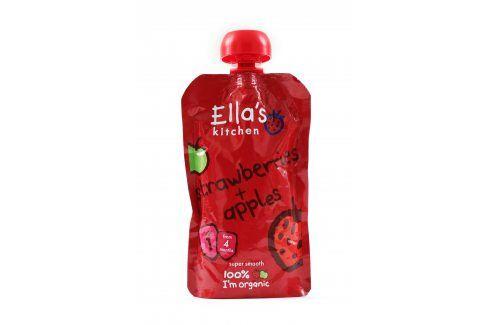 Ella's Kitchen Jahoda a jablko   Ovocné přesnídávky